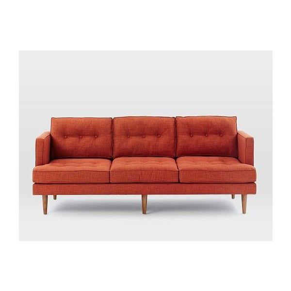 Genial Peggy Mid Century Sofa ($1,199) Via Polyvore Featuring Home, Furniture,  Sofas