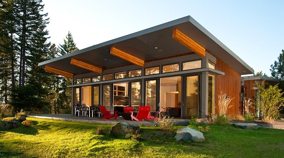 California Modular Homes In 2019 Log Cabins Modern Prefab Homes