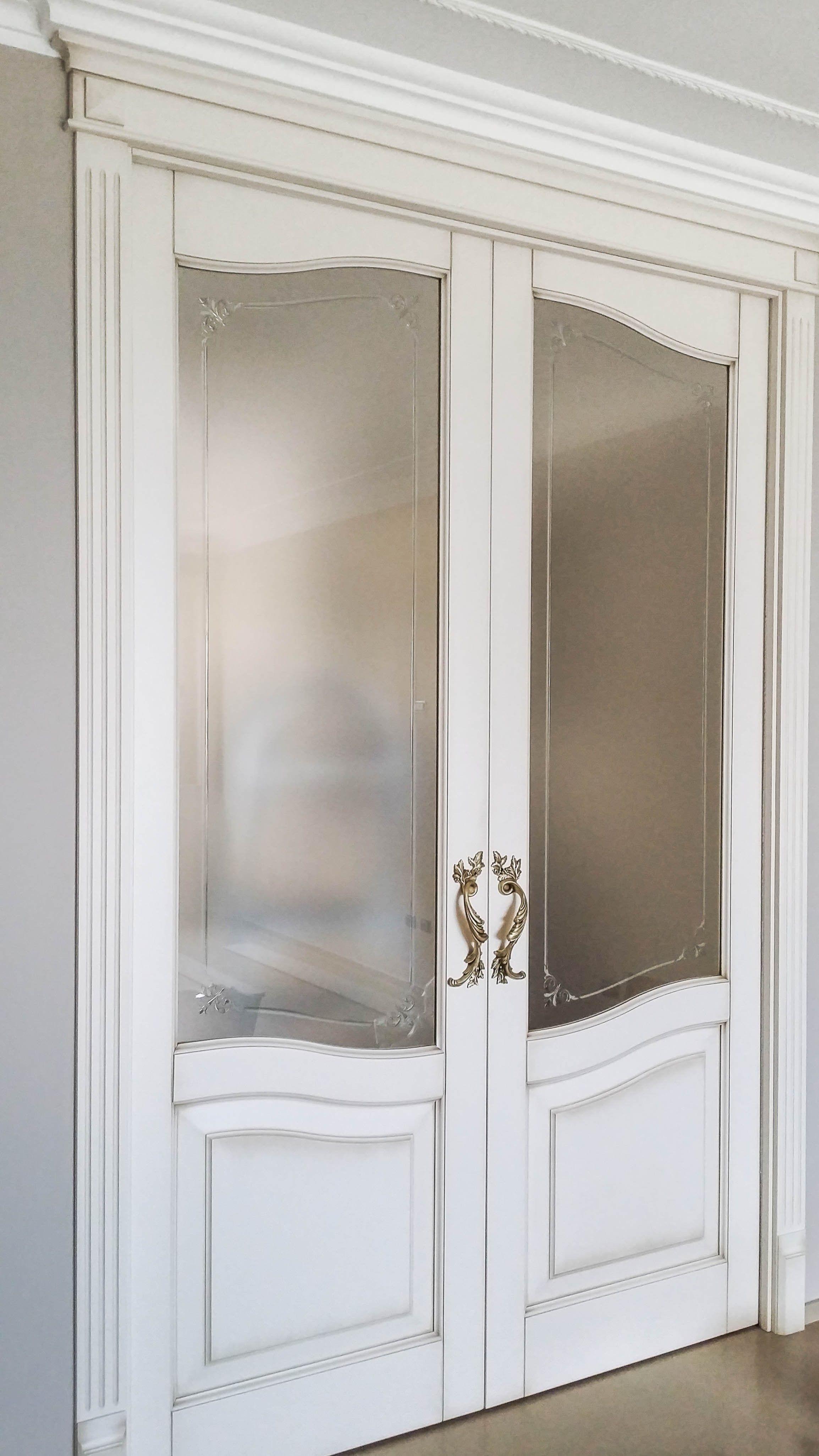 Porta A Due Ante Con Vetro.Vetri Decorati Per Porte Interne Moderne Migliore Ispirazione Per