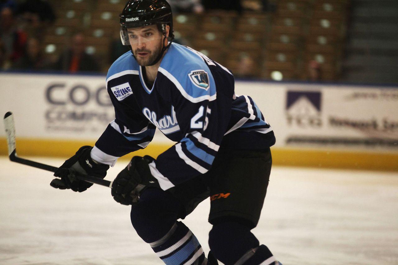 Worcester Sharks forward Marek Viedensky (March 16, 2014).
