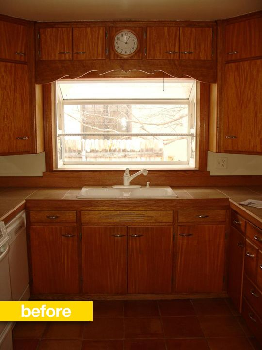 1960s Kitchen Remodel Before After: Kitchen Before & After: A Cookbook Author Transforms His
