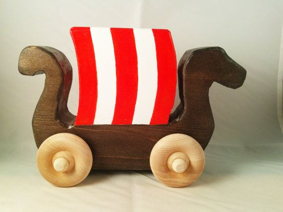 What A Cool Viking Ship Toy For Babies And Toddlers Norse