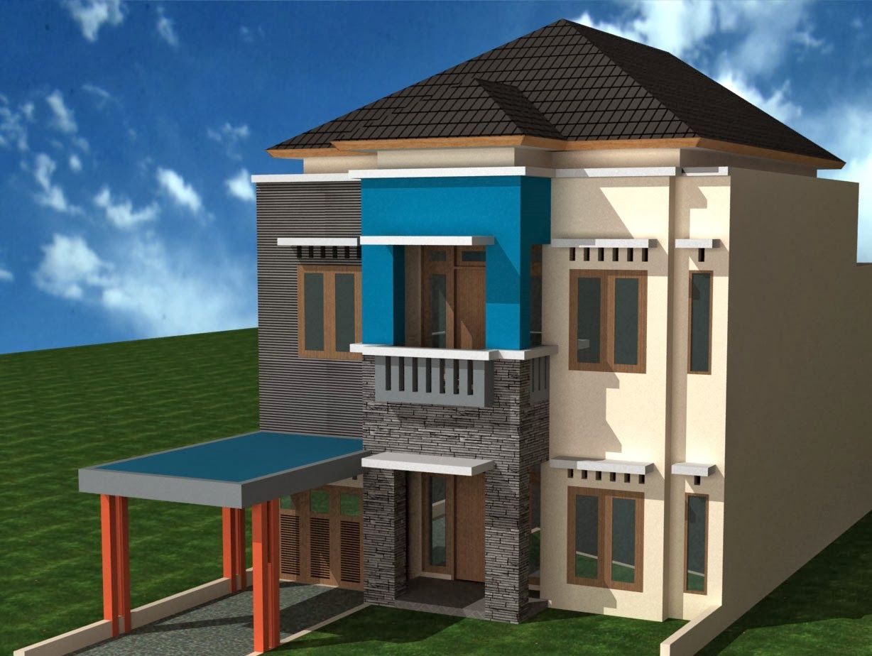 Minimalist Design House 2nd Floor Desain Rumah Minimalis