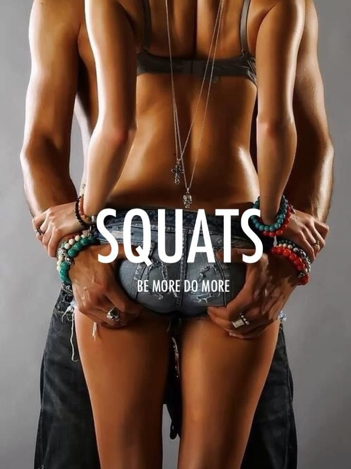 SQUATS oh yes! /