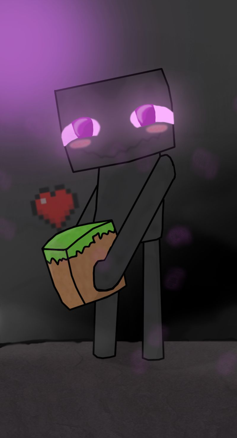 I M So Cute And Lovable Until I Kill You Minecraft Drawings Minecraft Creations Minecraft Wallpaper