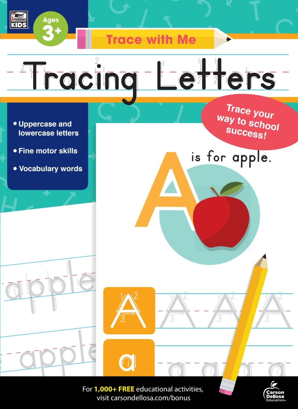 Trace With Me Tracing Letters Ebook