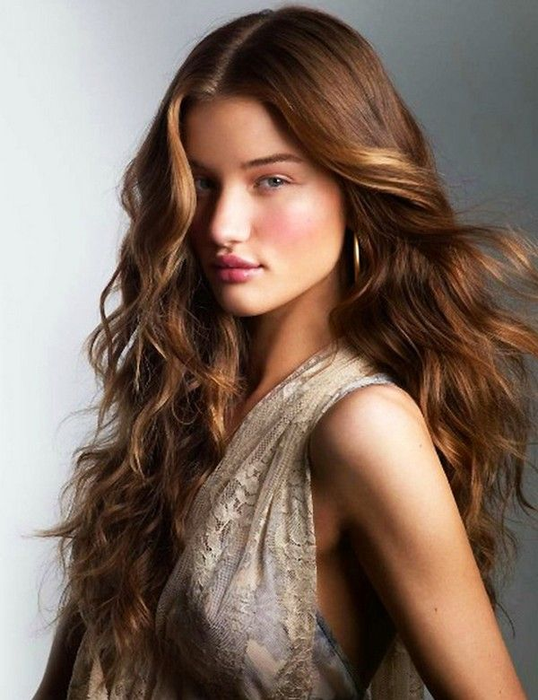 Wavy Hairstyles twisted half up curly hairstyle for thick hair 36 Long Hairstyles With Layers Collection In 2013 Long Layered Wavy Hairstyles 2013