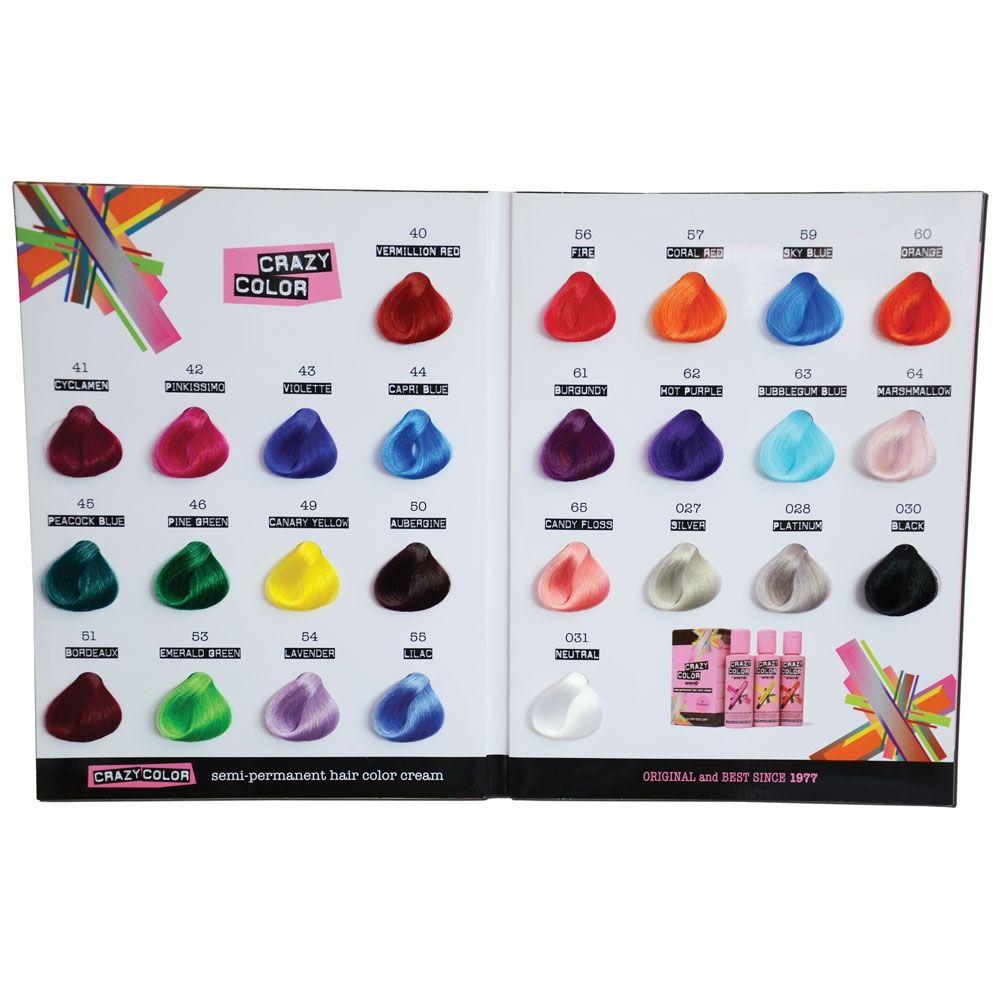 crazy colour chart colouring pinterest dyes hair. Black Bedroom Furniture Sets. Home Design Ideas