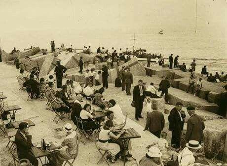 Espigó de l'escullera, BARCELONA,  anys 1920