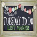 Tuesday To Do FEatured by jamianntexas, via Flickr