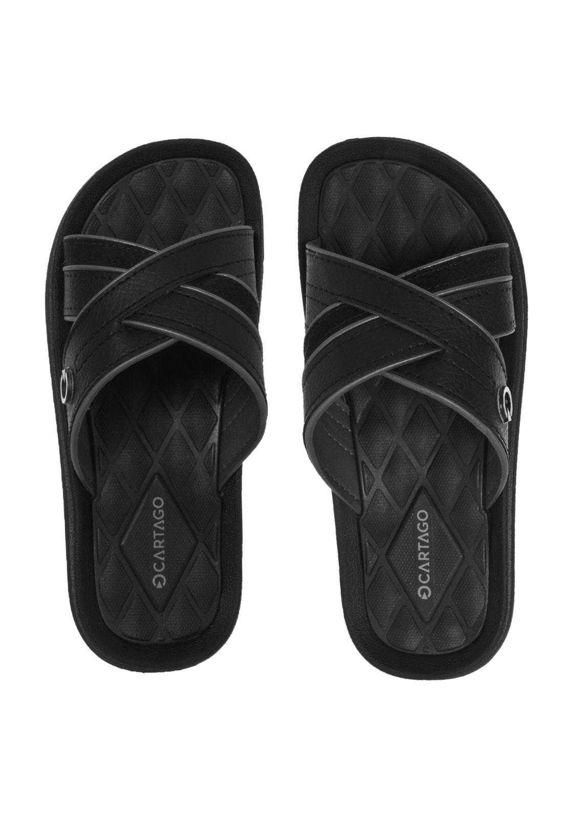 Sandália Cartago Fiji II Slide Preto - Compre Agora   Dafiti   Moda ... 6d1762f2d7