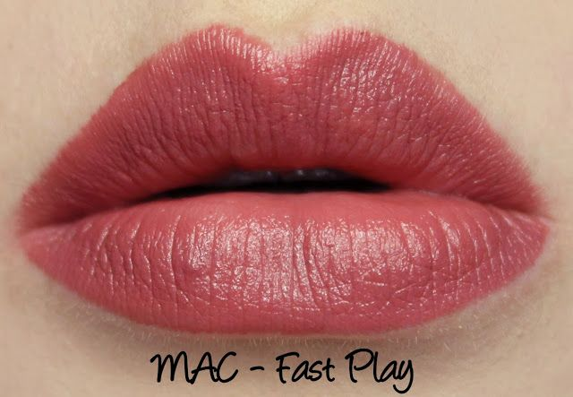 MAC Fast Play Lipstick Swatches & Review   My Lipstick Swatches ...