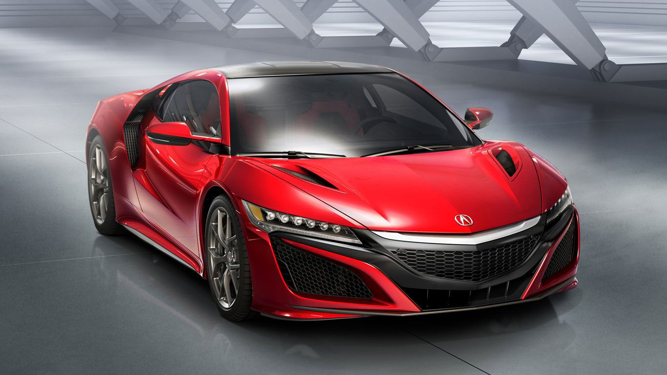 The Acura NSX debuted back in Detroit, but will get its