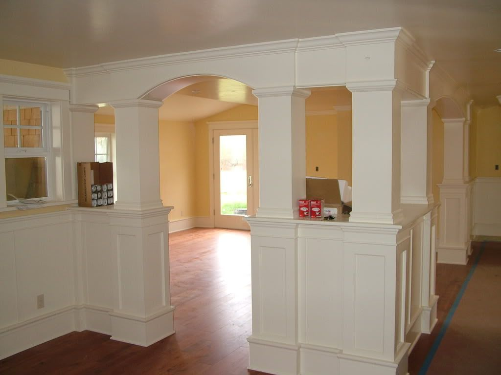 Great For Dining Playroom Divide Or Basement Pole Hiding Colored Ceiling House Flooring Home