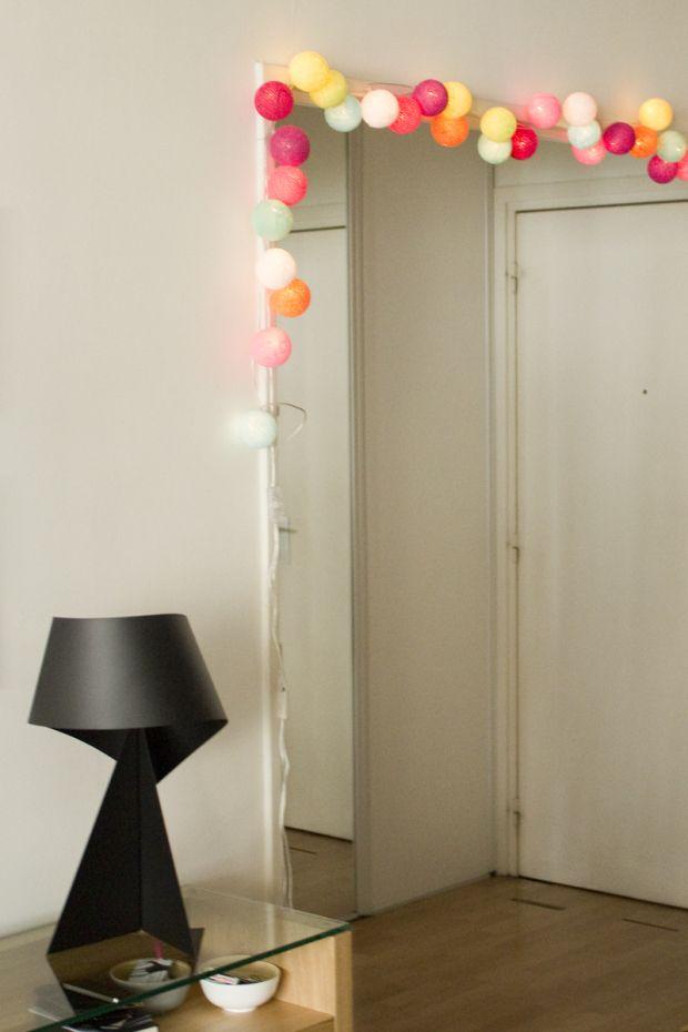 la case du cousin paul guirlande lumineuse et color e cousin paul. Black Bedroom Furniture Sets. Home Design Ideas