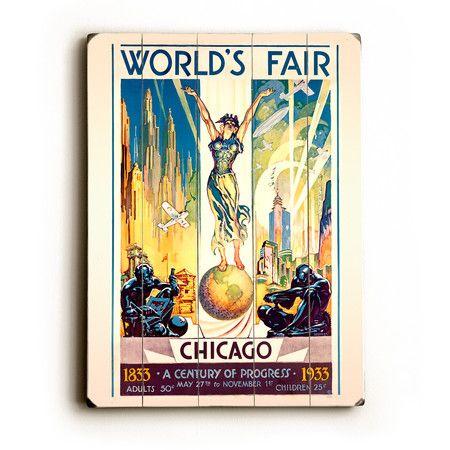 Worlds Fair Wall Decor