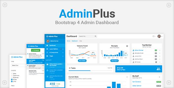Download Free Adminplus Bootstrap 4 Admin Dashboard Admin Admin