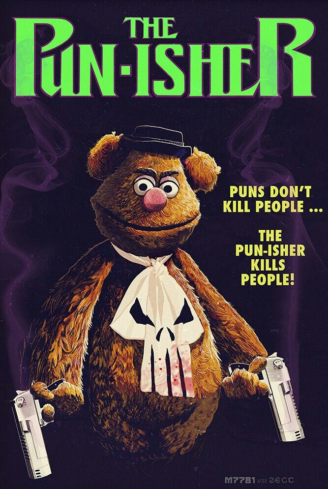 Fozzie Bear The Punisher Muppets Punisher The Muppet Show