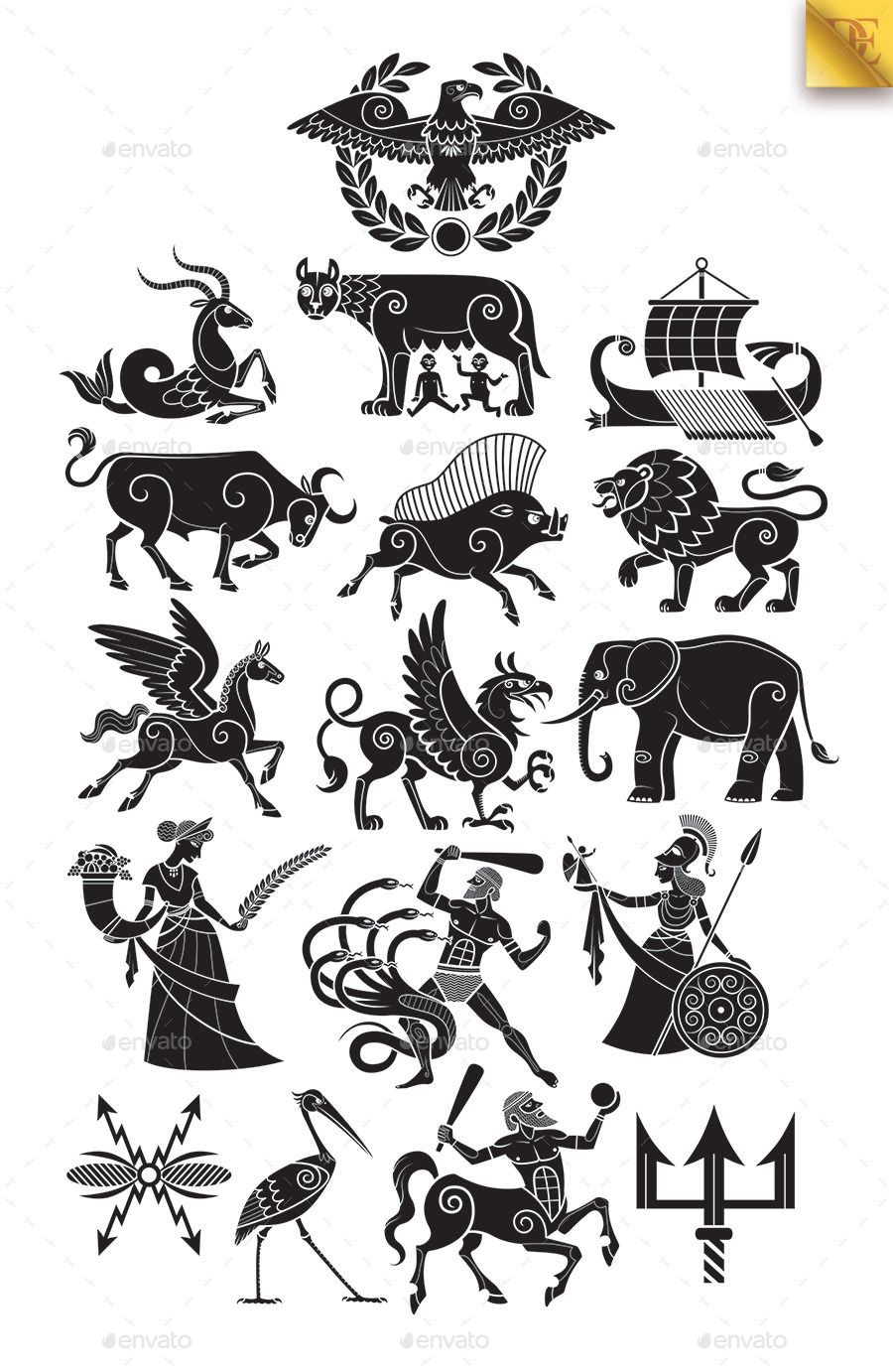 alpha and omega symbols - Google Search. RomansSymbolsSketches