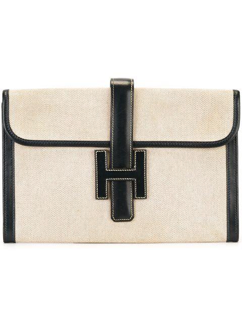 c9818300fa73 Hermès Vintage  Jige  clutch Vintage Clutch