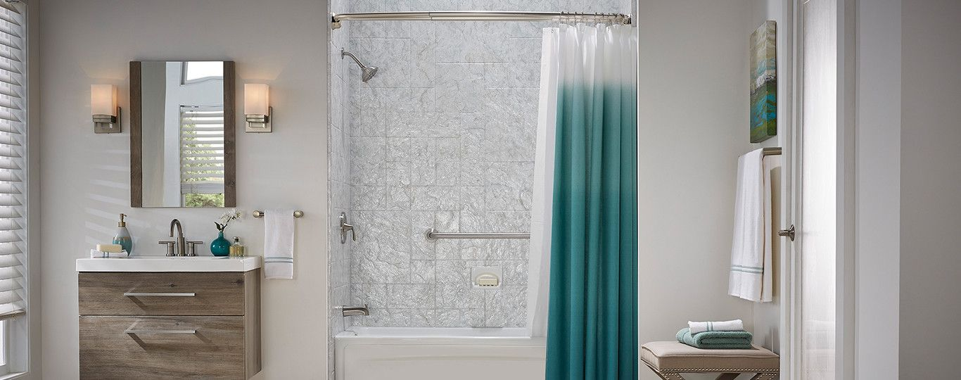 Jacuzzi Double Curved Curtain Rod Curtain Rods Shower Curtain