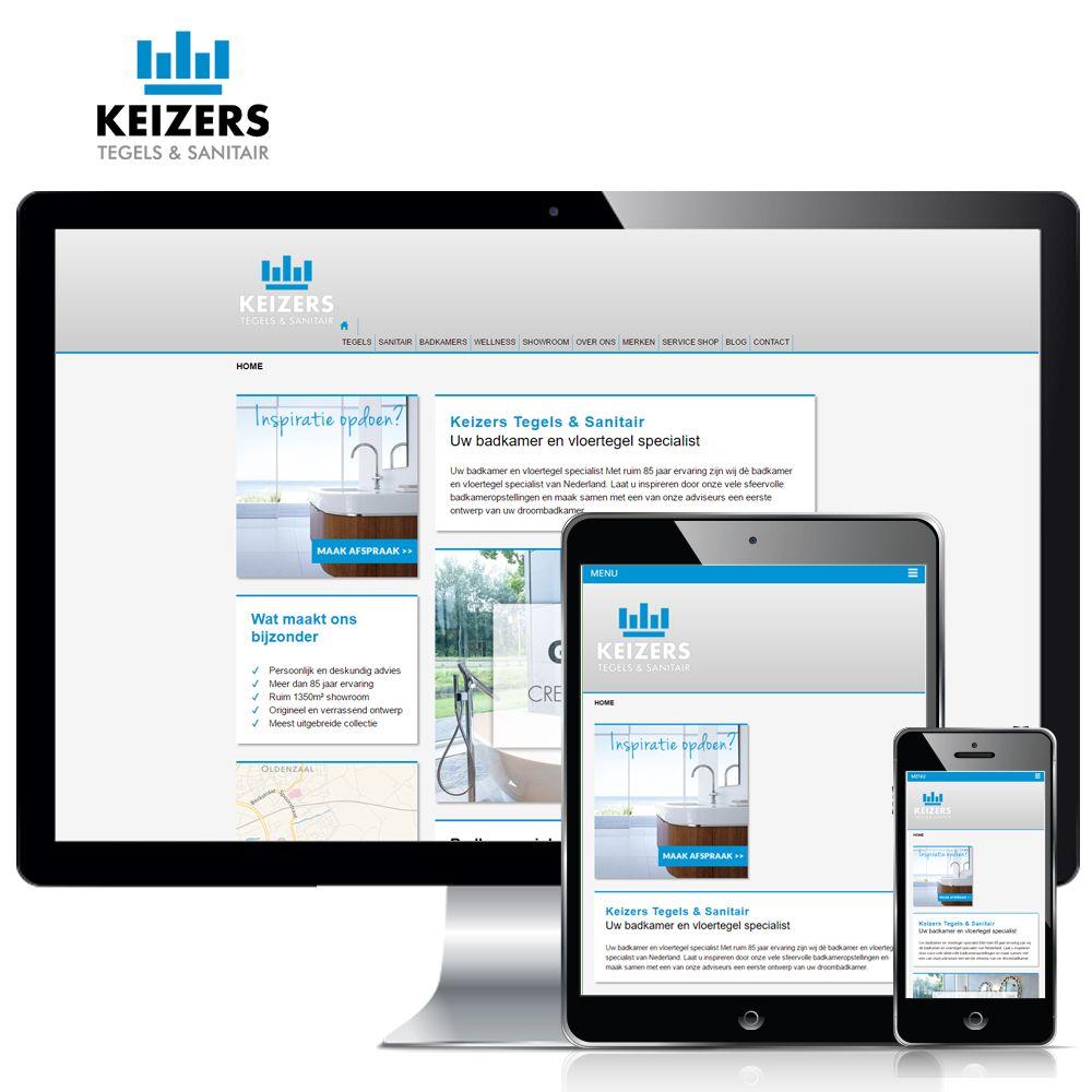 www.keizerssanitair.nl - Met ruim 85 jaar ervaring is Keizers dè badkamer en vloertegel specialist van Nederland. Al ruim 18 jaar verzorgt Weppster de website. Vorig jaar al werd deze in een nieuw jasje gestoken en onlangs hebben wij de site volledig opnieuw opgebouwd in WordPress, zodat Keizers deze eenvoudig zelf kan beheren.  Volg ons ook op:  Google+ - https://plus.google.com/105304135492198875590