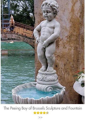 Garden statues fountains wall sculpture home decor dragons