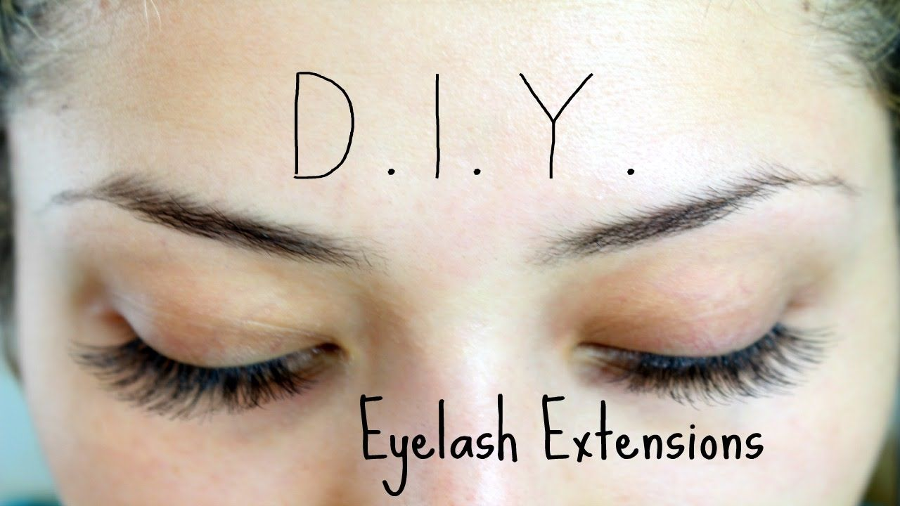 diy eyelash extensions | lashes | pinterest | extensions and makeup