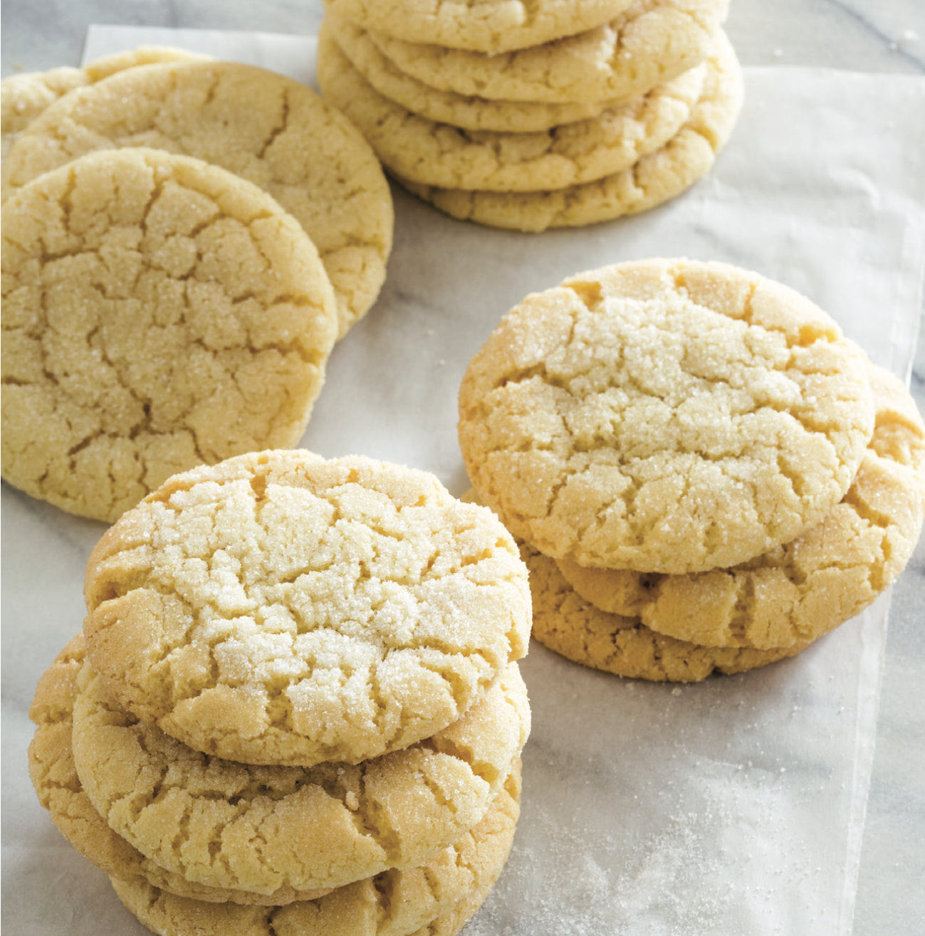 Our Sweet Tender Sugar Cookies Have A Pleasant Chew And A Few Surprising Ingredients Chewy Sugar Chewy Sugar Cookies Best Sugar Cookies Homemade Sugar Cookies