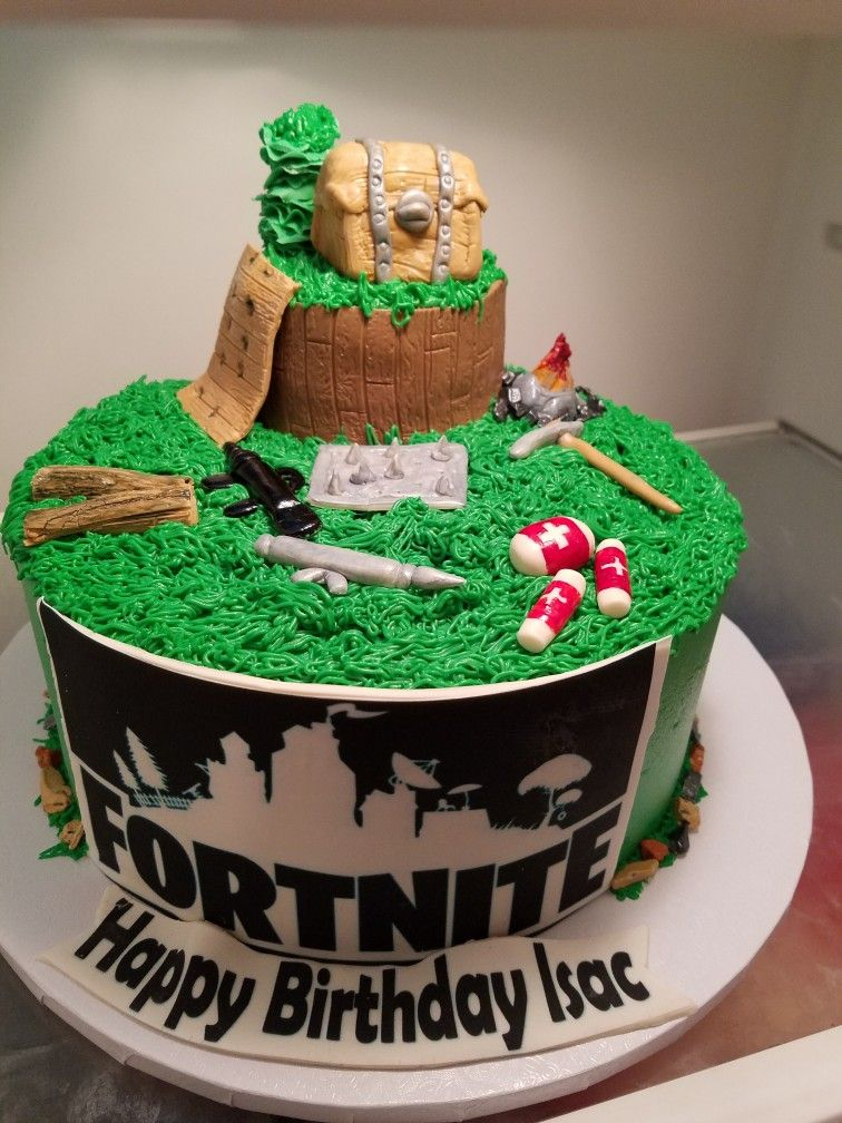 Fortnite Cake Cakes Birthday Cake Party Cakes Birthday