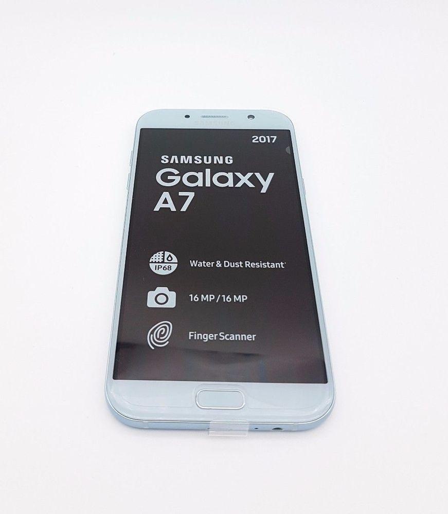 Samsung Galaxy A7 2017 Sm A720f Ds Factory Unlocked Blue Mist J7 Prime G610f Gold 16gb