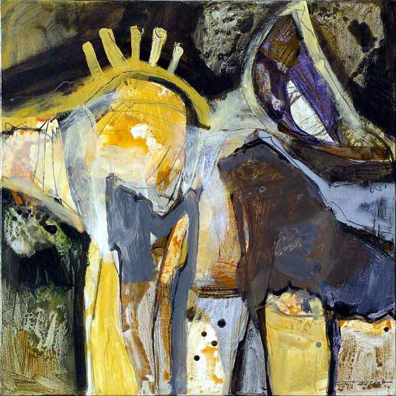 contemporary German art and artists: abstract painting