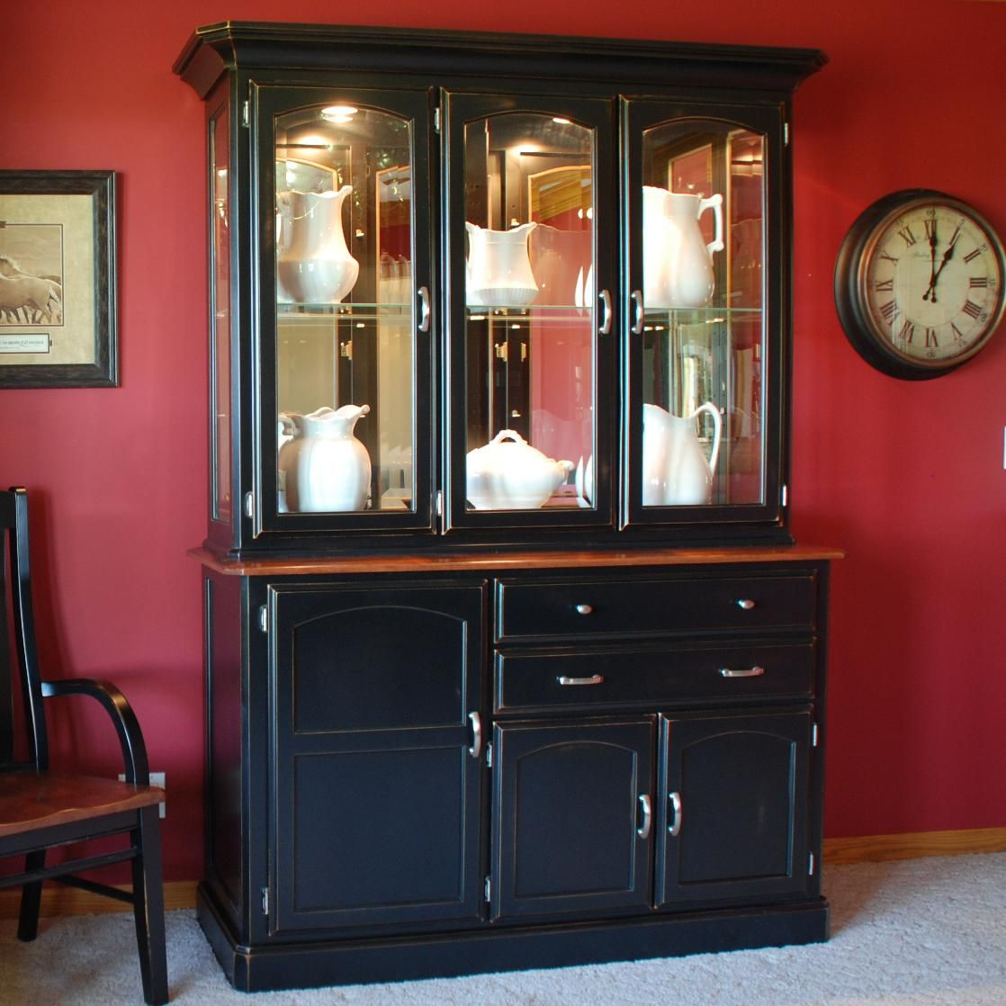 casual dining newport china cabinet w touch lighting by oakwood