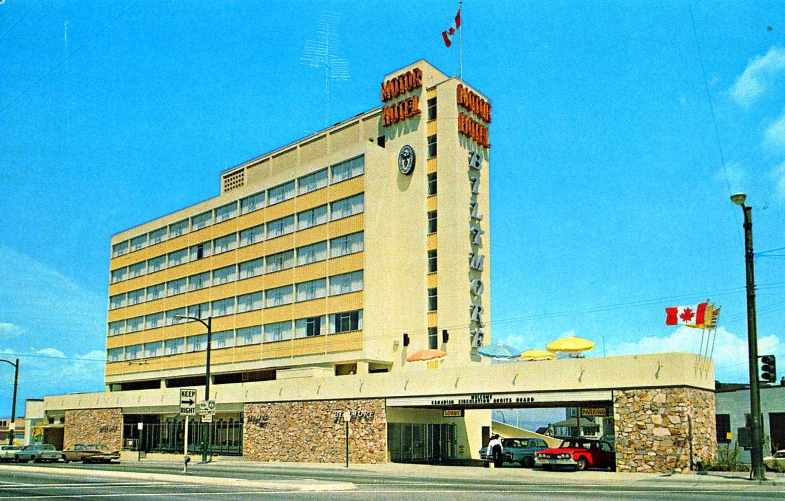 Biltmore Motor Hotel Vancouver Bc Canada
