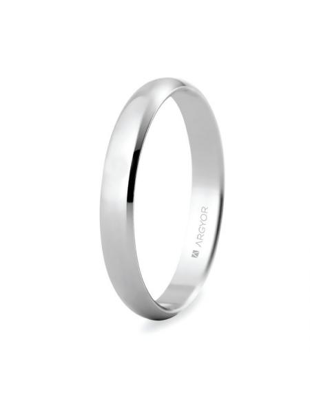 a2dda8cbdca9 ALIANZA DE BODA ORO BLANCO 3MM (5B305). Uno de nuestros anillos de boda