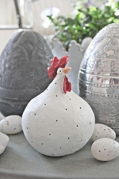pin von rosalia auf manualidades pinterest ostern keramik und pappmach. Black Bedroom Furniture Sets. Home Design Ideas