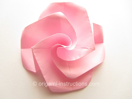 Photo of Origami Twisty Rose