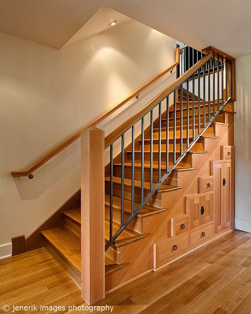 Cabinets Under Stairs Could Work In Basement