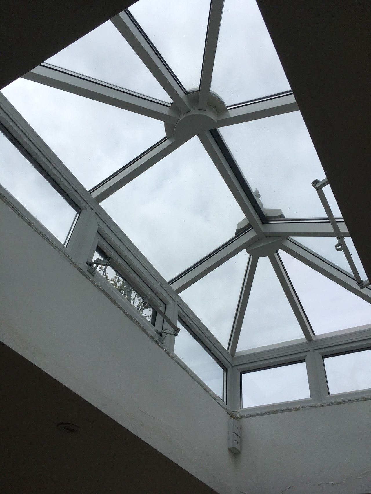 If You Have Roof Lanterns Window Film Is The Ideal Way To Maintain The View And The Natural Light Levels While Reducing Roof Architecture Roofing Roof Design