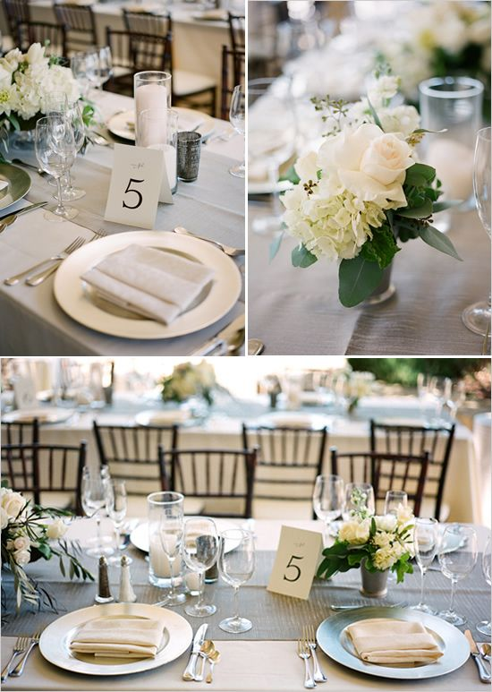 elegant table decor