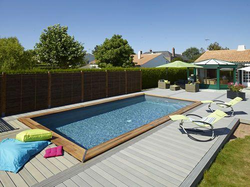 Cinq bonnes raisons de faire construire une piscine - Fabriquer une piscine en bois ...
