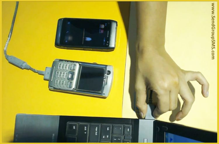 Deliver bulk sms alerts by using gsm based phone with drpu
