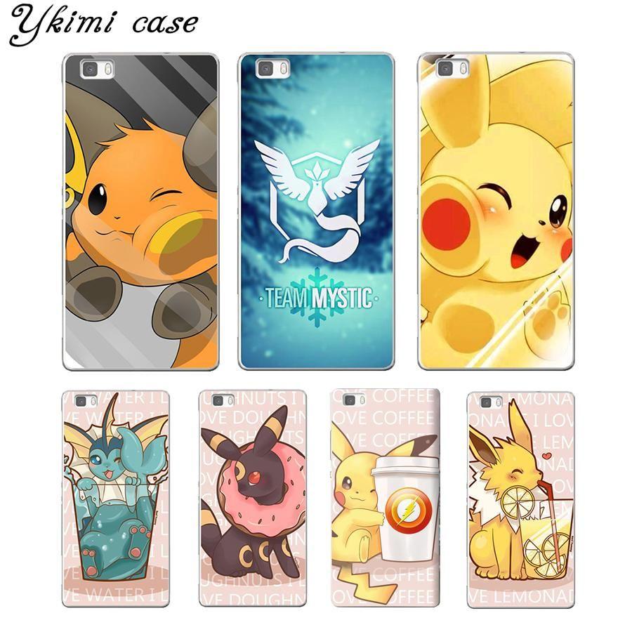 coque p8 lite 2017 huawei pokemon