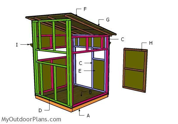 Building A 5x5 Shooting House Shooting House Deer Blind Plans Deer Blind
