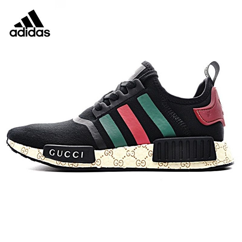 buy popular 1cab9 6079b Original New Arrival Authentic Adidas P1 Custom Gucci Men s   Women s  Running Shoes Sport Outdoor Sneakers Good Quality 675001