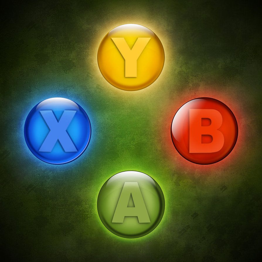 Xbox Buttons Illustration By Retoucher07030 On Deviantart Gaming Tattoo Xbox Gaming Wallpapers