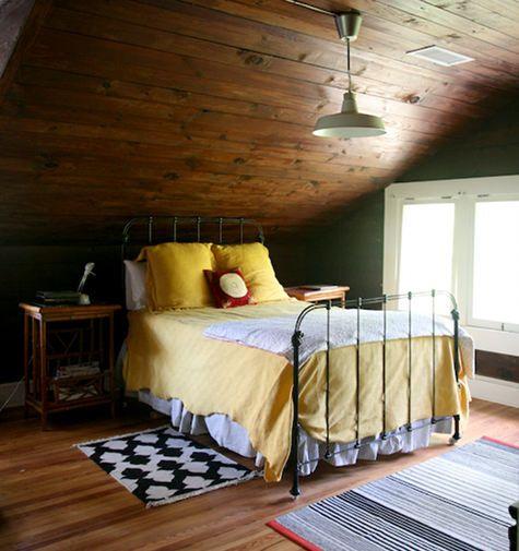 Beautiful bedroom from Lucy Allen Gillis' Sneak Peek on Design Sponge.