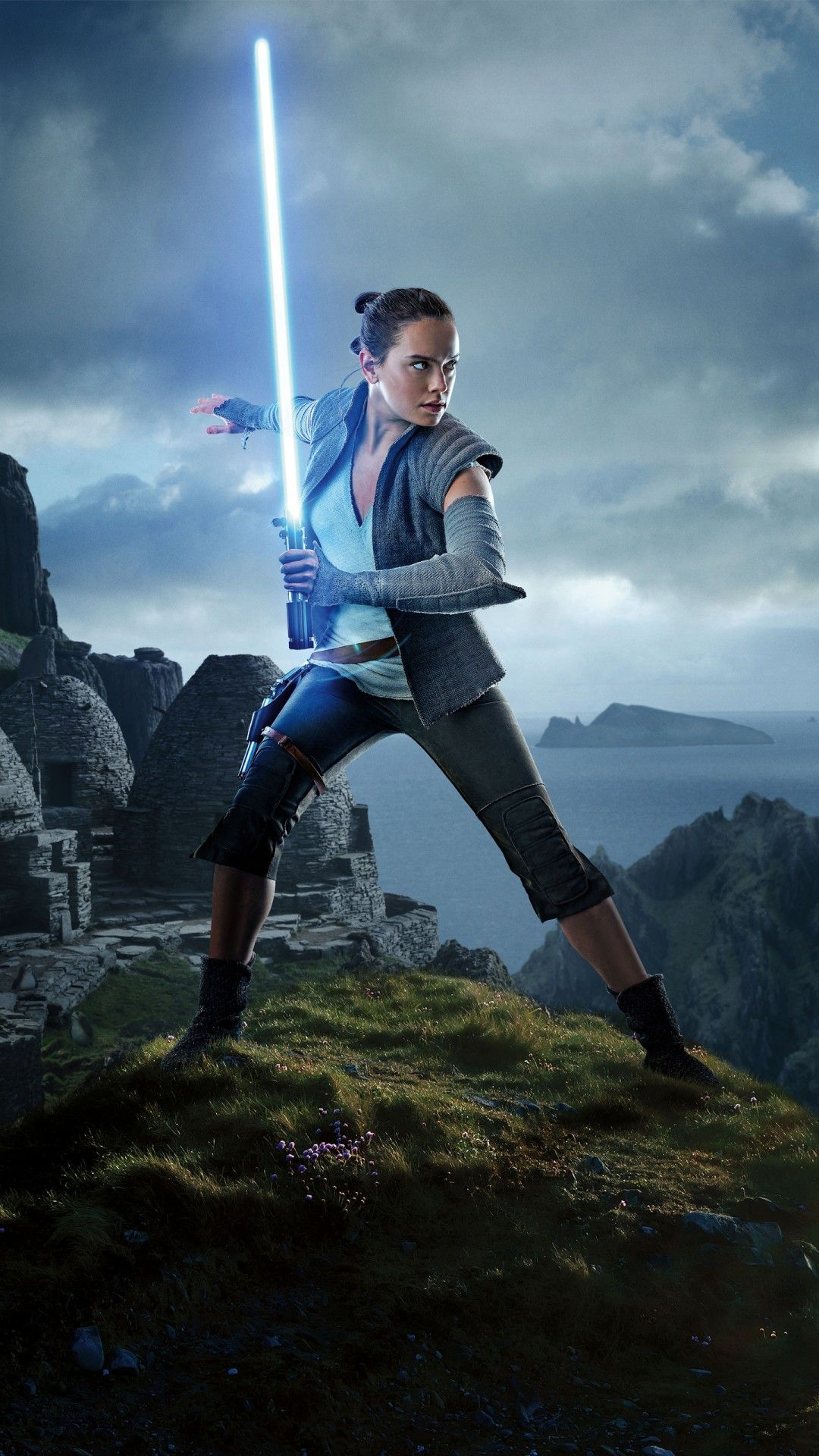 Rey (Star Wars) - Tap to see more exciting Star Wars wallpapers! - @mobile9