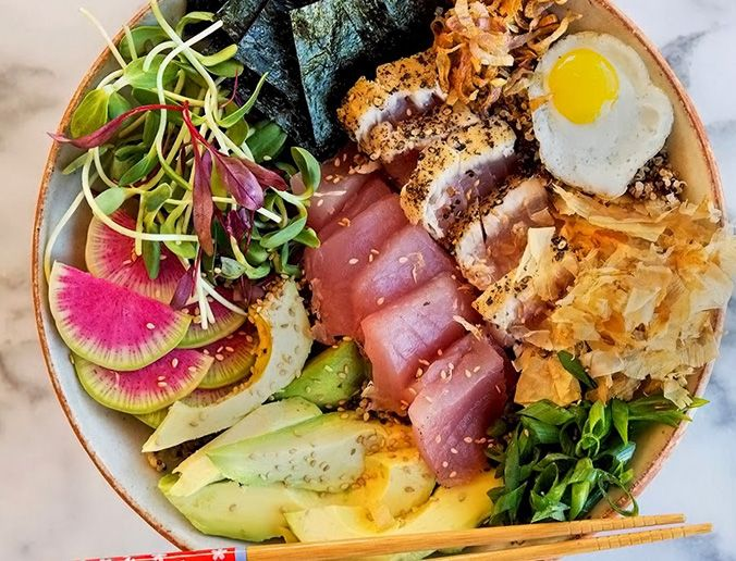 Deconstructed Sushi Salad Bowl from our Top 10 Superfood Power ...