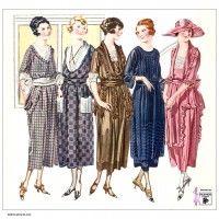 1921-vestidos-de-primavera-en-gasa-organdí-y-crepé georgette de